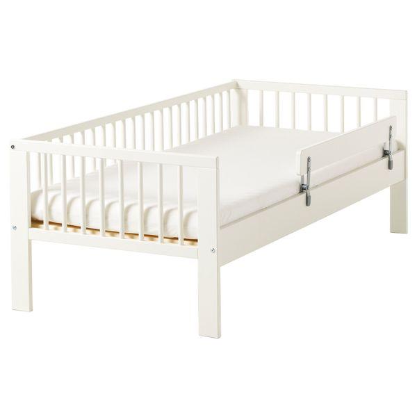 Kinderbett weiß ikea  IKEA Kinderbett WEISS - Gulliver in Gilching - Baby- und ...