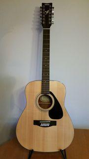 Westerngitarre Yamaha 12-saitig