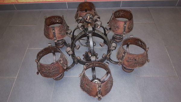 Kronleuchter Antik Kupfer ~ Alte kronleuchter massiv kupfer deckenleuchte hängeleuchte lampe