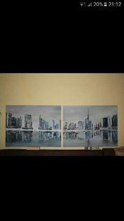 2 teiliges Bild DUBAI