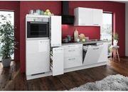 Küche Hochglanz mit Elektronischen Geräten