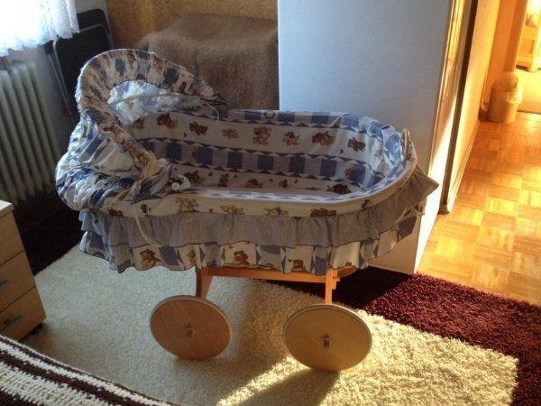 Stubenwagen inkl matratze bollerwagen xxl babybett schnäppchen