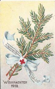 Weihnachten 1918