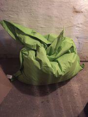 Sitzsack Sitzkissen grün