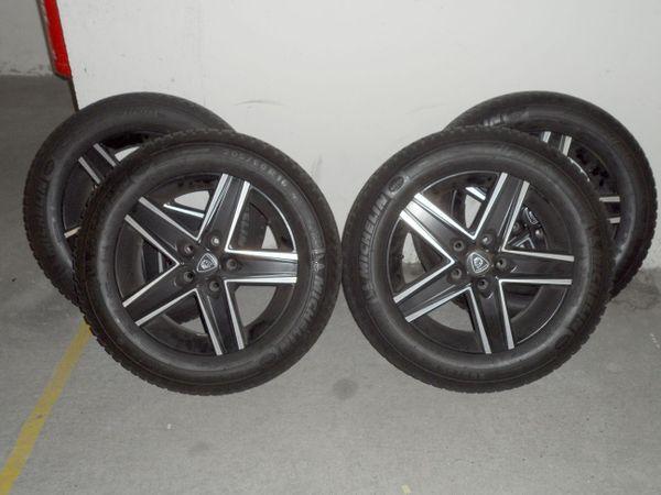 Alu-Winterräder 205/60 R16 für Opel - Karlsruhe Durlach - ALU Komplettwinterräder OPEL. Michelin-Reifen Alpin4 von 205/60 R16 96H mit ALU-Felgen 6,5J x16 H2.Die Felgen haben keinerlei Beschädigungen, zwei Reifen haben noch 8,5 mm und die anderen 5mm Profil.Die Räder sind ausgewuchtet und f - Karlsruhe Durlach