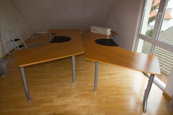 Ikea Effektiv Schreibtisch, Farbe Buche, Business Modell in Malsch ...