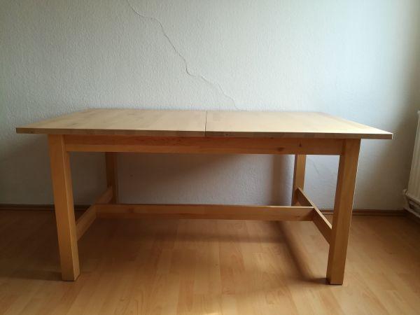 Küchentisch Tisch Ikea Norden mit Zusatzplatte in Nürnberg - IKEA ...