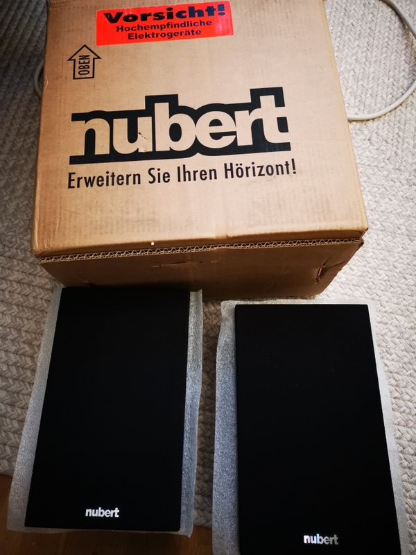 2x Nubert Lautsprecher Nubox Ws-103 -