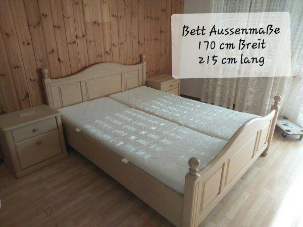 Schlafzimmer komplett aus Naturholz in Eichenau - Schränke, Sonstige ...