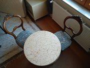 Zwei Biedermeier Stühle neu gepolstert