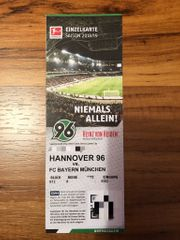 TICKET Hannover 96 vs FC