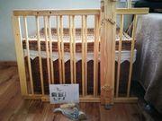 Treppenschutzgitter, neuwertig