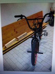 BMX Fahrrad rot schwarz von
