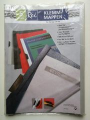 5 Rex A4 Klemmmappen Klemm-Mappen
