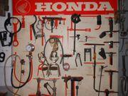 Honda Werkzeugwand für
