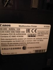Drucker Canon MG 3550