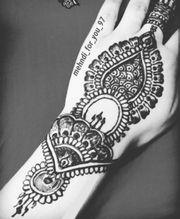 Henna Tattoo (Mehndi)
