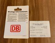 Deutsche Bahn DB Geschenkgutschein 29 -