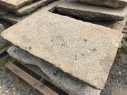Historische Granitplatten Natursteinplatten mit Breite