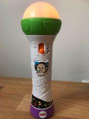 Mikrofon mit Licht und Sound
