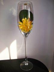 Sekt Champagner Glas mundgeblasen XL