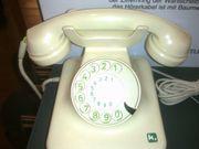 Telefon mit Wählscheibe,