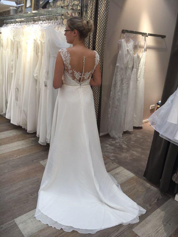 Brautkleid a linie lilly