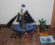 Playmobil Piraten 4067 Piratenschiff schwarzer