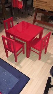 IKEA Sitzkindergruppe in rot