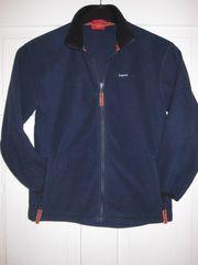 Fleecejacke Jacke blau Gr 140