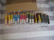 17 Druckerpatronen HP
