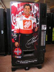 Getränkeautomat Coca Cola - Rennfahrer