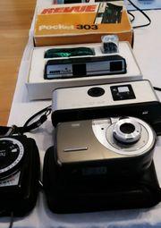 Alte Filmkameras