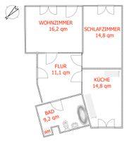 EF Süd 2 Zimmer gratis-EBK