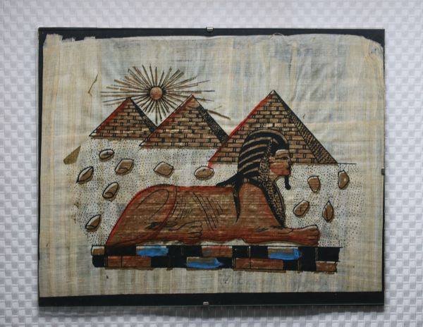 Papyrus Sphinx