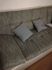 Couch Sofa mit Recamiere