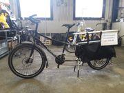 Fahrrad Xtracycle longtail Cargobike
