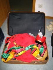 Koffer voll Karnevalskostümen