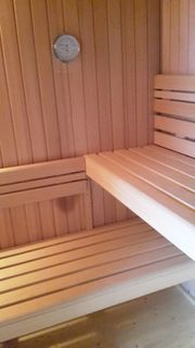 Mobile Sauna Camping Garten