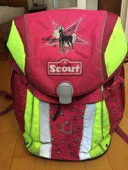 Scout Schulranzen pink gelb Einhornmotiv