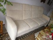 Couch (cremefarbe)