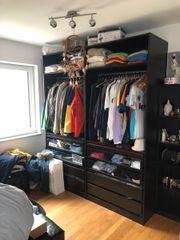 IKEA PAX Kleiderschränke 450cm mit