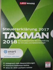 Taxman Steuersoftware 2018 -