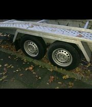 2700 kg Autotranporter Anhänger zu