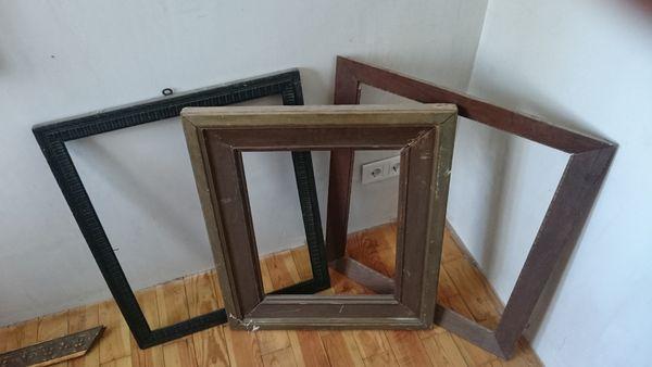 mehrere alte bilderrahmen kaufen mehrere alte bilderrahmen gebraucht. Black Bedroom Furniture Sets. Home Design Ideas