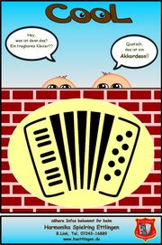 Akkordeonunterricht im Verein