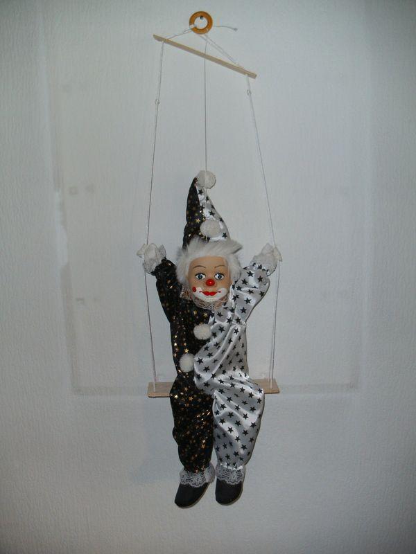Deko-Clown zum Aufhängen Zirkusclown
