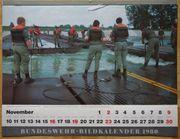 Bundeswehr-Bildkalender 1979 1980 Heer Marine
