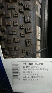 Racing Ralph Double Defense TL
