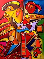 Ausdrucksstarkes Gemälde Bilder